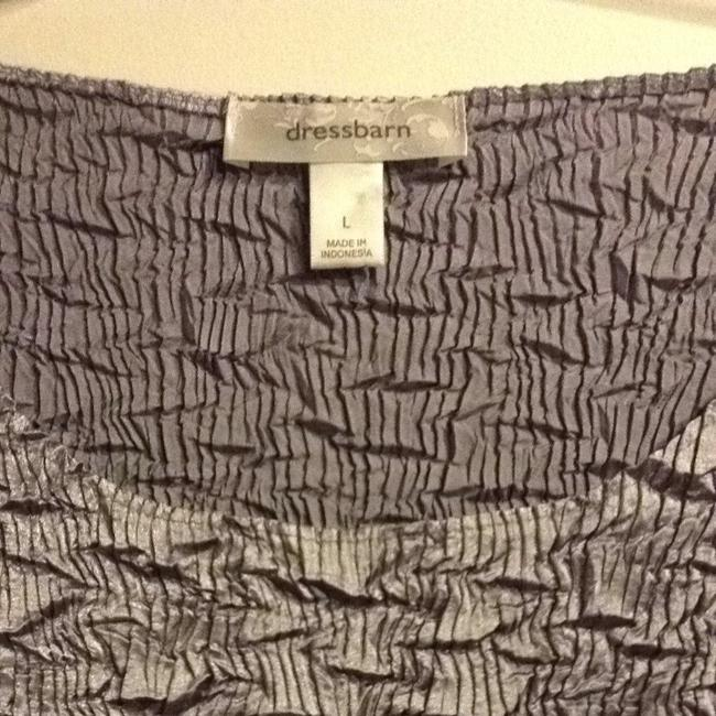 Dress Barn Top Gray