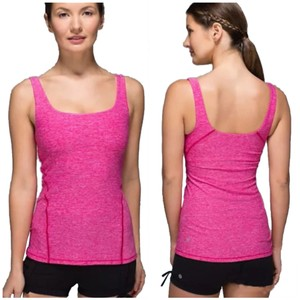 Lululemon New With Tags Lululemon Amala Tank Jeweled Magenta Pink Size 4