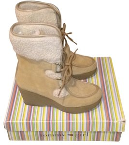 Tommy Hilfiger Natural Wedges