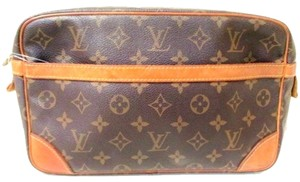 Louis Vuitton LOUIS VUITTON COMPEIGNE LARGE GM 28 COSMETIC CASE POUCH TOILETRY BAG