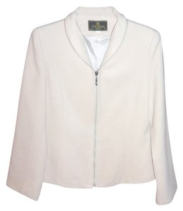 Fendi Designer Jacket Cream Blazer