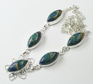 Multi Colored Turquoise Ssp Necklace Free Shipping