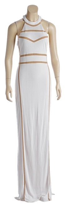 White Maxi Dress by A.B.S. by Allen Schwartz