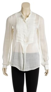 Chloe Button Down Shirt Cream