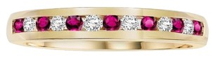 Cherish Always Cherish Always Ruby and Diamond band ring