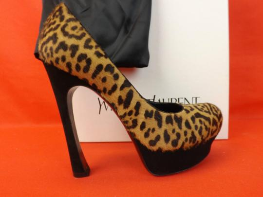 Saint Laurent Leopard Pumps