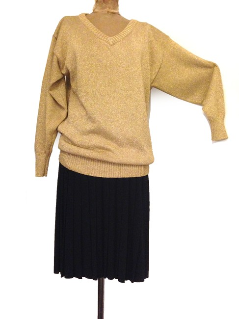 Clifford & Wills Knit V-neck Party Glitter Sweater
