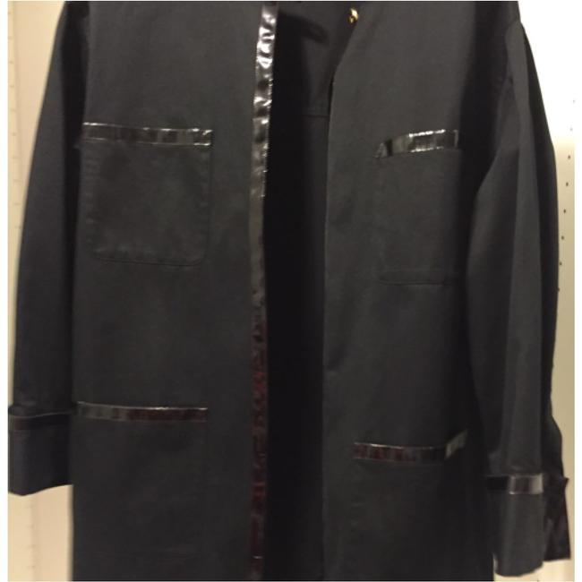 Chanel Blac Leather Jacket