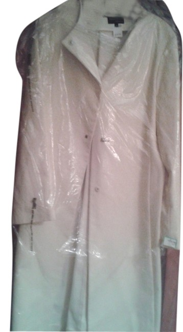 Preload https://item4.tradesy.com/images/white-made-in-italy-trench-coat-size-8-m-10389913-0-1.jpg?width=400&height=650