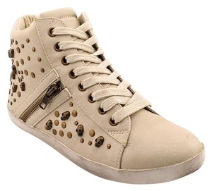 Mia Shoes Studded Off White Athletic