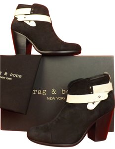 Rag & Bone Black/White Boots