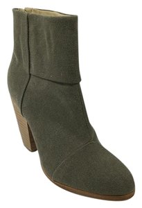 Rag & Bone Green Bootie Stonewall/Olive Boots