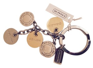 Coach coach key chain, new with tag