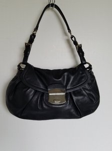 Prada Tab W/#25 Leather Shoulder Bag