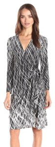 BCBGMAXAZRIA short dress Adele Printed Wrap on Tradesy