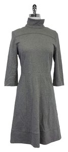 Shoshanna short dress Light Grey Turtleneck on Tradesy