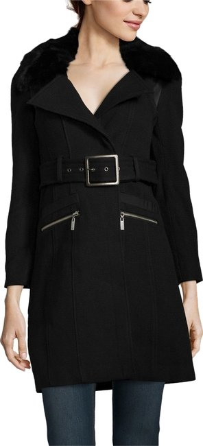 Preload https://item5.tradesy.com/images/runway-belted-wool-peacoat-with-pockets-m-black-size-8-m-10395049-0-1.jpg?width=400&height=650