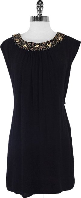 Preload https://item4.tradesy.com/images/french-connection-black-beaded-detail-silk-mini-short-casual-dress-size-4-s-10395388-0-1.jpg?width=400&height=650