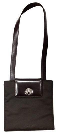 Preload https://item2.tradesy.com/images/bvlgari-il-postino-vintage-brown-nylon-and-leather-shoulder-bag-1039601-0-0.jpg?width=440&height=440