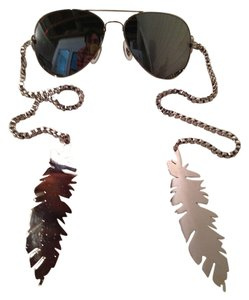Gomer Silver Feather Sunglasses