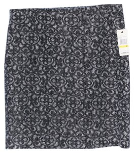 Studio M Skirt charcoal grey/white