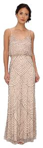 Adrianna Papell Art Deco Party Wear Dress