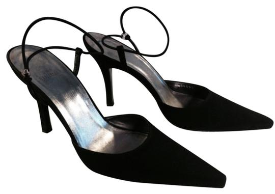 Preload https://item3.tradesy.com/images/stuart-weitzman-black-fabric-stiletto-with-rhinestone-adorned-ankle-strap-formal-shoes-size-us-7-reg-10397842-0-1.jpg?width=440&height=440