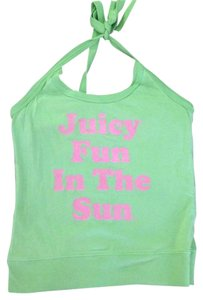 Juicy Couture Green Halter Top