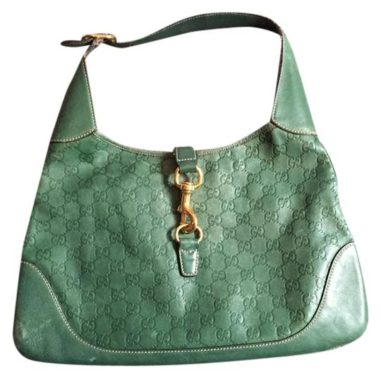 Preload https://item5.tradesy.com/images/gucci-green-leather-shoulder-bag-10398184-0-1.jpg?width=440&height=440
