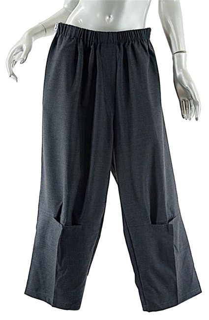 Preload https://item5.tradesy.com/images/gray-charcoal-wool-blend-flannel-po-wmid-calf-pockets-relaxed-fit-pants-size-os-one-size-10398229-0-1.jpg?width=400&height=650