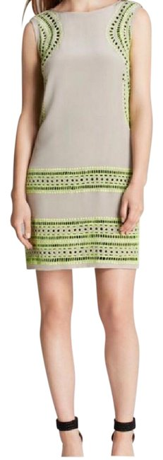 Preload https://img-static.tradesy.com/item/10398253/shoshanna-taupe-green-style-number-7839876-above-knee-short-casual-dress-size-2-xs-0-4-650-650.jpg