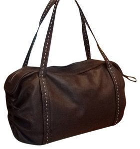 Ann Taylor Satchel in Chocolate Brown