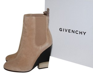Givenchy Camel Beige Suede Boots