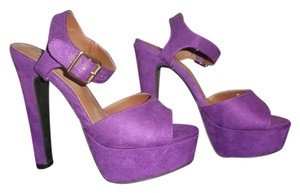 Candie's Party Purple Sandals