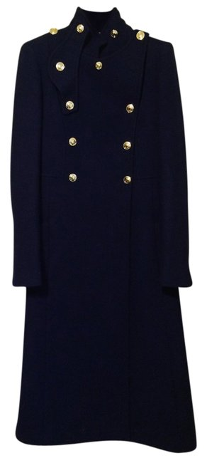 Preload https://item5.tradesy.com/images/gucci-royal-blue-military-style-cashmere-blend-trench-coat-size-0-xs-10399729-0-1.jpg?width=400&height=650