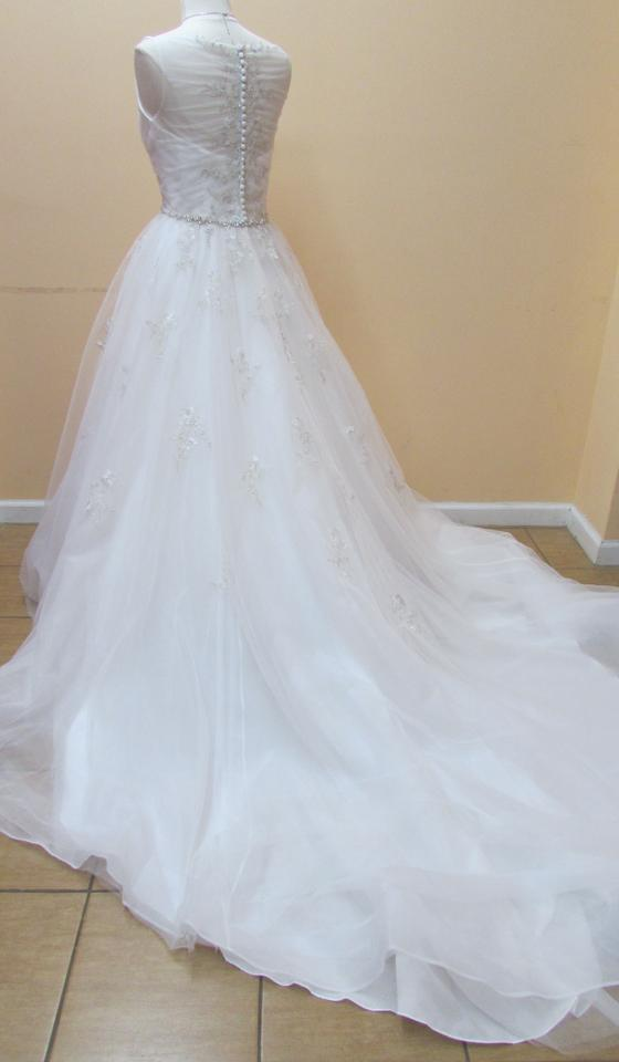 Alfred Angelo Ivory Layered Net and Embroidered Lace 2565 Modern ...