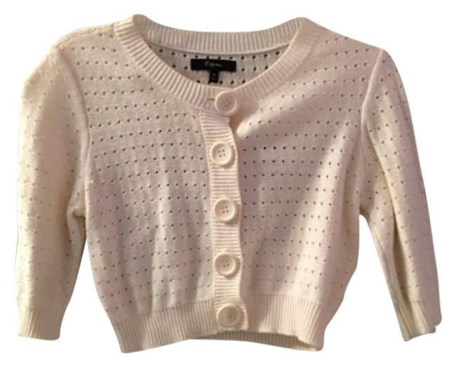 Preload https://item5.tradesy.com/images/express-ivory-cardigan-size-4-s-10401694-0-1.jpg?width=400&height=650