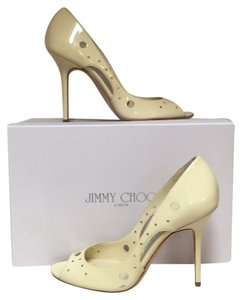 Jimmy Choo High Heels Sexy Ivory Pumps