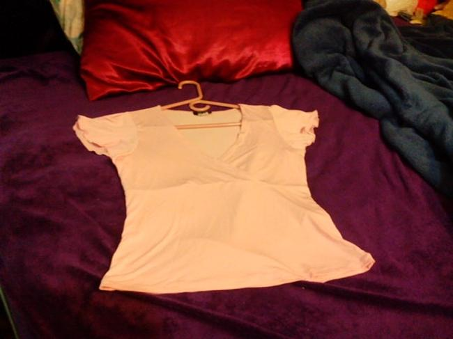 My Michelle Top peachy pink