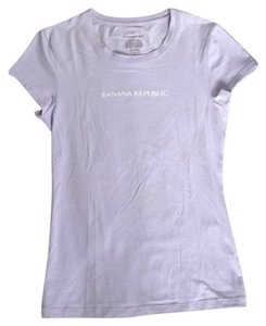 Banana Republic T Shirt Lavender