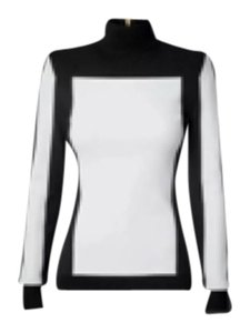 Balmain x H&M Top Black and White