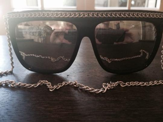 Betsey Johnson Betsey Johnson Retro 80's Raven Sunglasses- RARE!