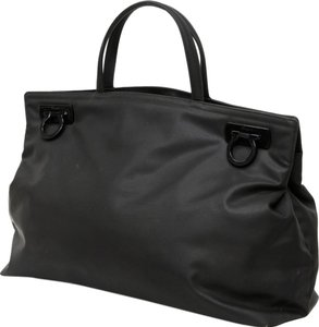 Salvatore Ferragamo Louis Vuitton Chloe Tote in Black