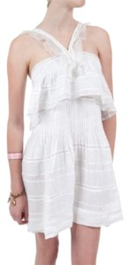 Isabel Marant short dress White Obira Broderie Anglaise Ramie Mini on Tradesy