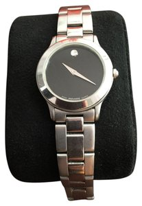 Movado Authentic Movado Museum Stainless Steel Ladies Watch 28mm 84 D1 822.2