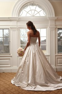 Maggie Sottero Shimmering Satin Wedding Ball Gown By Maggie Sottero Imagine Wedding Dress