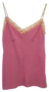 Free People Large Camisole Lace Femimine Top Pink