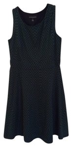 Cynthia Rowley short dress Navy and green on Tradesy