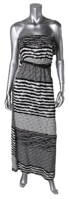 Black White Maxi Dress by Trixxi