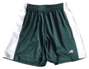 Green and white Shorts